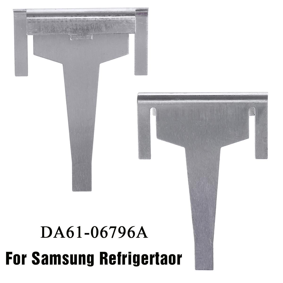 1PCS Metal Refrigerator Evaporator Drain Clip For Samsung Fridge Freezer DA61-06796A 1870872 1718552