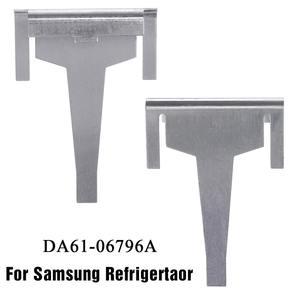 1PCS Metal Refrigerator Evaporator Drain Clip For Samsung Fridge Freezer DA61-06796A 1870872 1718552(China)