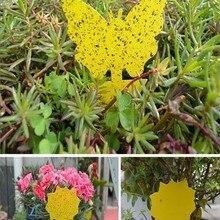 Желтые сильные мухи, липкие ловушки для насекомых, летающие ловушки, ловушка для насекомых, уличная ловушка для насекомых, для насекомых