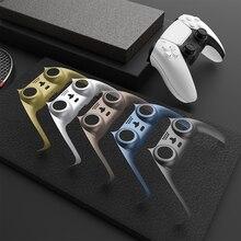 Gamepad דקורטיבי רצועת עור מקרה כיסוי החלפה עבור Sony PS5 DualSense משחק בקר ידית התיכון שיכון Shell
