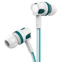Langsdom jm26 in ear fone de ouvido 3.5mm estéreo gaming headset com microfone fones de ouvido de alta fidelidade para o telefone mp3 fone de ouvido