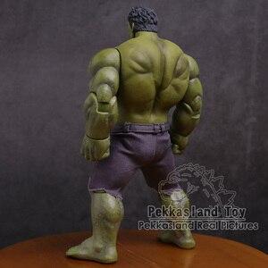 Image 3 - Экшн фигурка Мстители Халк супер герой ПВХ Коллекционная модель игрушка 25 см