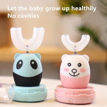 Electric Toothbrush Uv-Sterilization Usb-Charger Sonic Silicone Children 360 for Cartoon-Pattern