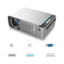T5 Projector Mini 720P Portable Home Office Support Hd 1080P Projector