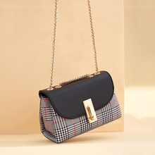 New Arrival Shoulder Bag For Women Classic Plaid Crossbody Brand Chain Fashion Messenger Ladies Bolsa Feminina