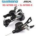Shimano SLX M7000 Groupset 11-скоростной SL M7000 рычаг переключения передач + RD M7000 задний переключатель передач MTB M7000