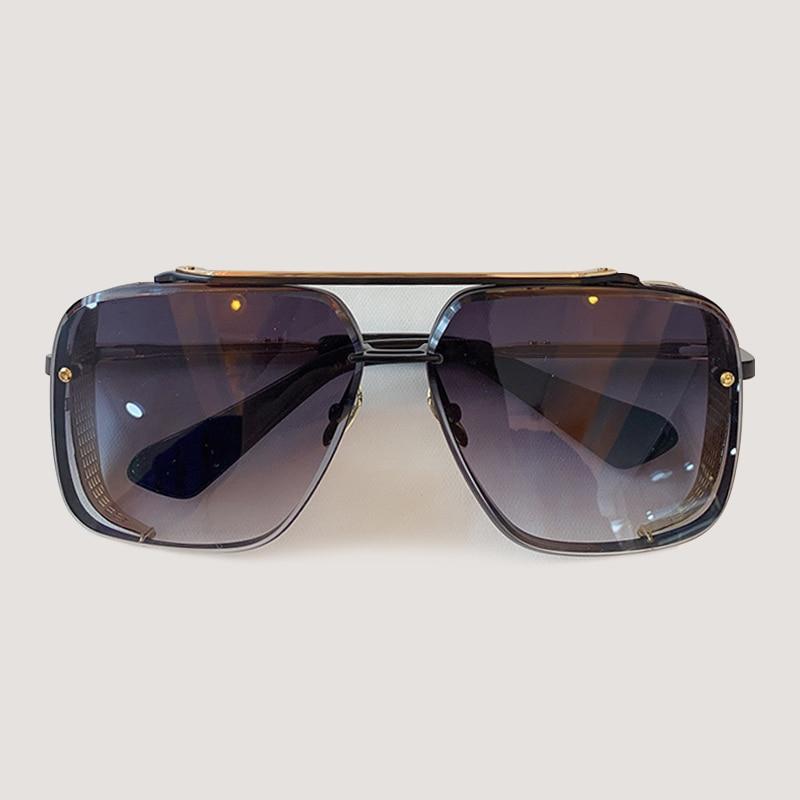 Мужские солнцезащитные очки модные квадратные солнцезащитные очки Oculos De Sol брендовые дизайнерские женские оттенки - 3