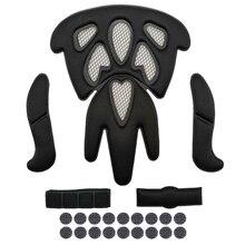 LOCLE, высокое качество, велосипедный шлем, внутренний велосипедный шлем, подкладка, велосипедный шлем, внутренние накладки, верхний шлем, подкладка с сеткой от насекомых