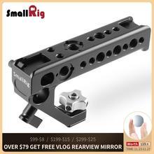 SmallRig kamera Video kolu kavrama sabitleyici hızlı bırakma ayakkabı kolu kameralar için el çekim üst kolu yan kavrama 2094