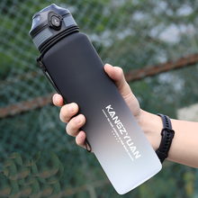 Sport Water Bottles Portable tritan Gym bottle Anti-fall 1000ml Large Capacity Fitness Kettle plastic Drink Bottle BPA Free
