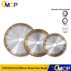 Image 1 - 1pc TiCN Coated Woodworking Saw Blade 210/250mm 255/300mm TCT Cutting Disc Circular Saw Blade Saw Blades Cutting Wheel Discs