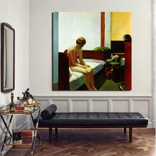 Hotel Room Edward Hopper Wall Art Canvas Posters And Prints Canvas Painting Decorative Picture For Office Living Room Home Decor poster vintage wallpaper wall art canvas posters and prints canvas painting decorative picture for office living room home decor