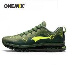 ONEMIX קיץ גברים ריצת נעלי ספורט סניקרס דעיכת כרית לנשימה חיצוני שרוכים אוויר מאמני גברים הליכה נעלי טניס