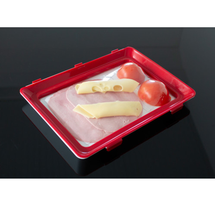 1pcs 30.5*23.7cm Household Kitchen Food Vegetable Fruit Preservation Fresh Storage Conservation Tool Tray