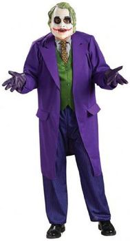 "Dark Knight Costume, Mens Batman Joker Costume Style 2, X-Large, CHEST 44 - 46"", WAIST 36 - 40"", INSEAM 33"""