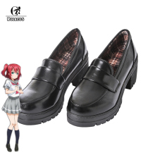 ROLECOS Japanese Anime Love Live Sunshine Cosplay Shoes Takami Chika Girls JK Aqours School Uniform