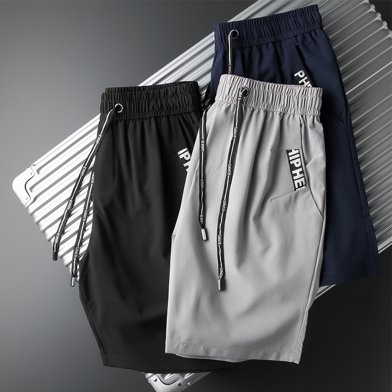 Beach Shorts Men's Quick-Dry Shorts 2019 Men Summer Casual Shorts Beach Pants