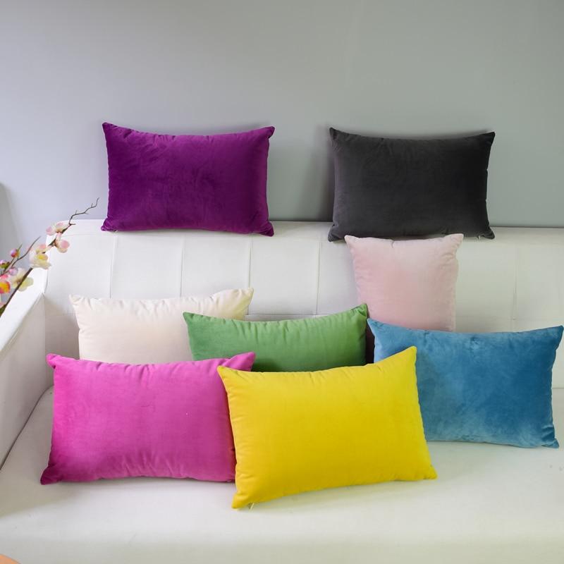 Velvet Pillowcase Cushion Cover  Throw Pillow Covers  Throw Pillows  Pillow Covers  Living Room Decoration  Pillow Covers