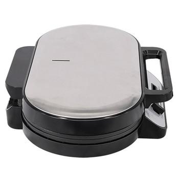 Double Waffle Machine Sandwich Machine Non-Stick Coated Plate Breakfast Sandwich Machine Toaster UK Plug 6