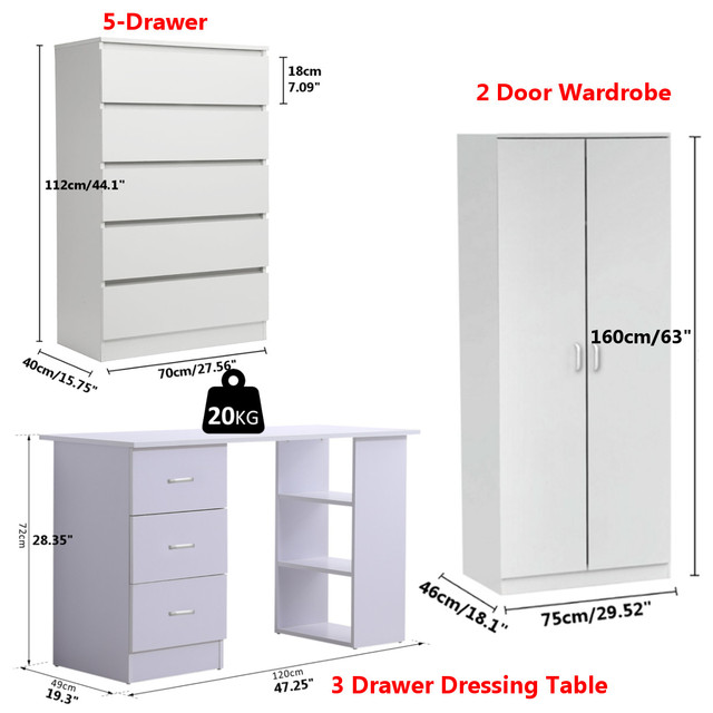 White Board Basic Furniture 4