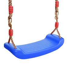 Children Swing Rope Set Chair Slides Accessories Replacement Rigid Plastic Seat kids Outdoor Indoor Playground Equipment
