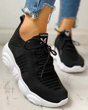 Трикотажные дышащие кроссовки на шнуровке yeez; Уличная обувь