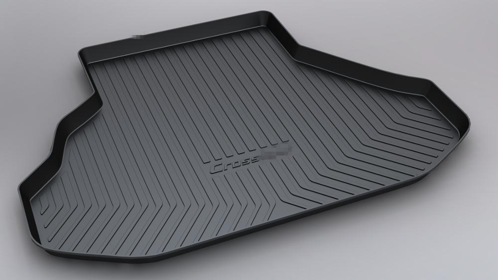 SJ ALL Weather TPO Car Trunk Mats Tail Boot Cargo Liner Cover Rear Cargo Tray Luggage Pad For Honda Crosstour 2012 2013 14-2017