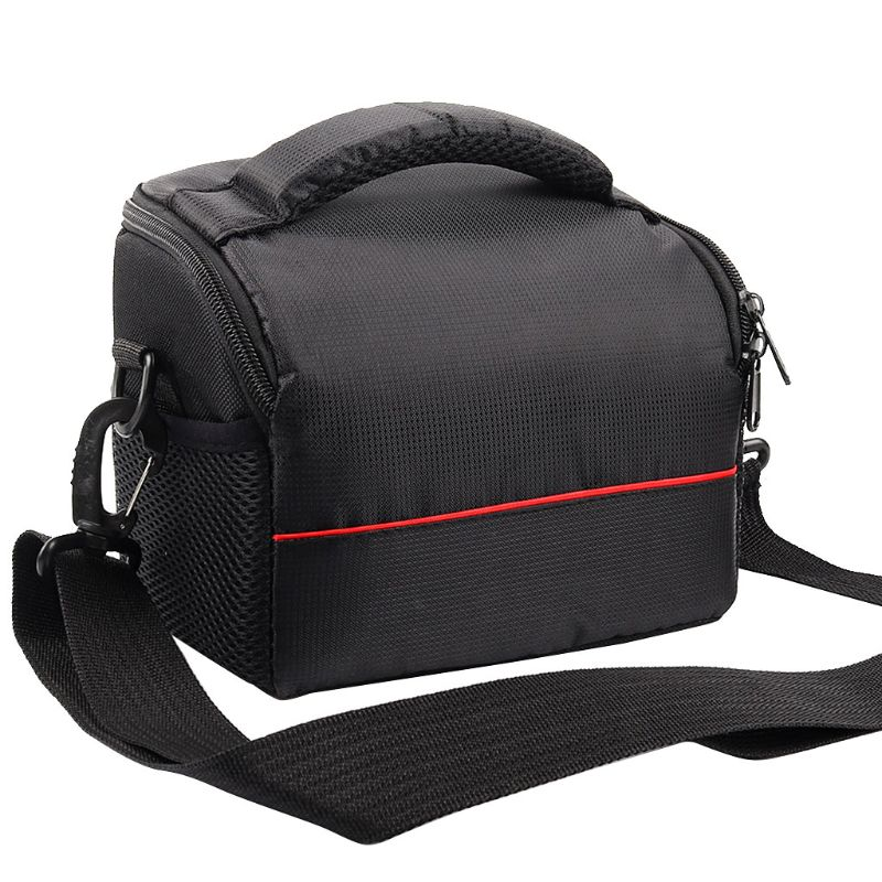 Waterproof Digital Camera Shoulder Bag Carrying Case for Canon G7X Mark II G9X SX430 SX420 EOS M10 M50 for <font><b>Nikon</b></font> CoolPix <font><b>B700</b></font> image