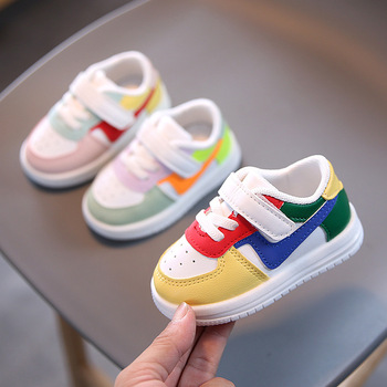 Hook&Loop Lovely Casual Sneakers Cute Leisure First Walkers Cool Baby Girls Boys Shoes Infant Tennis canvas fashion cute lovely shoes children glowing cartoon baby toddlers slip on cool baby girls boys shoes infant tennis