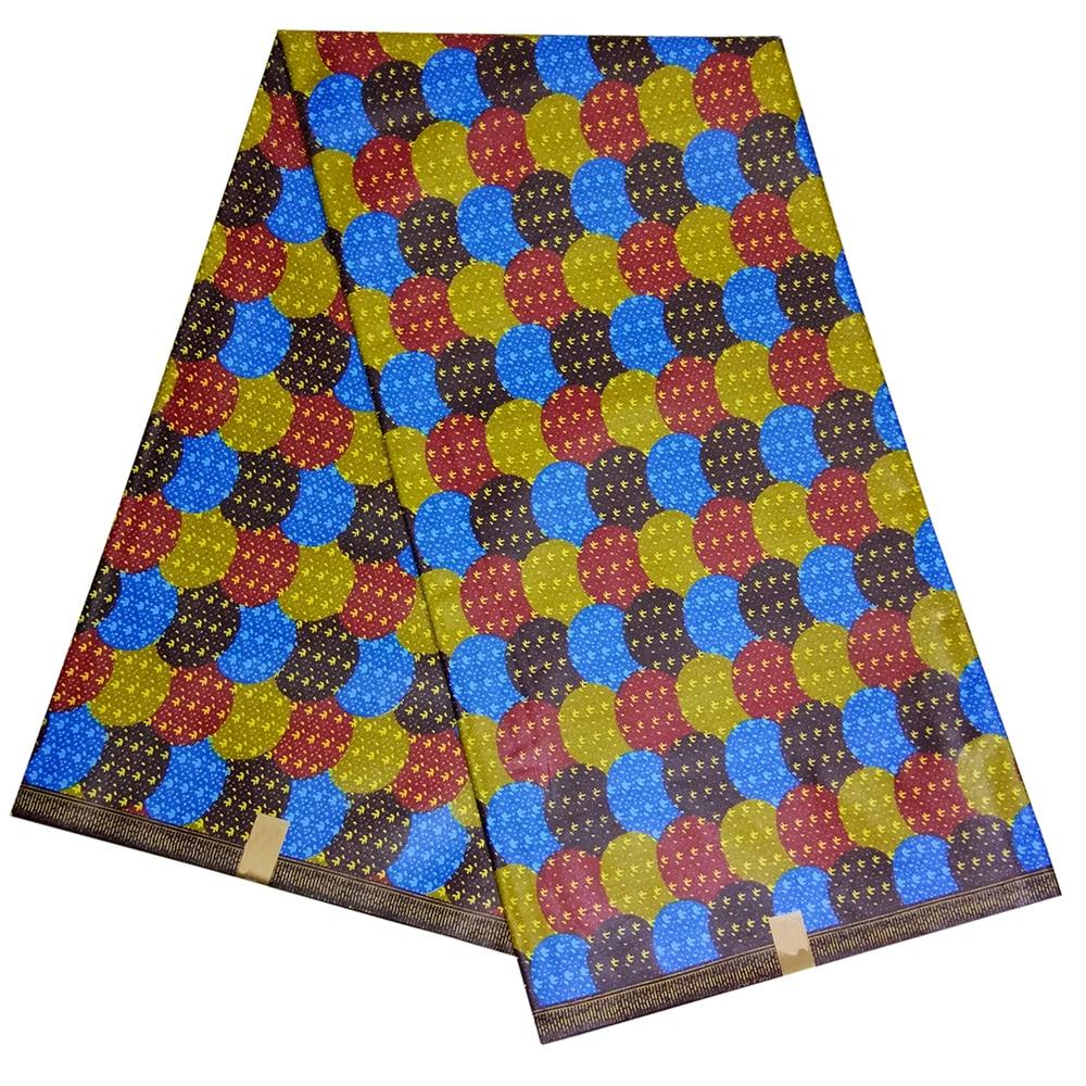 Beautiful 100% Cotton Ankara Wax Print Fabrics African Fabric African Real Dutch Wax 6yard