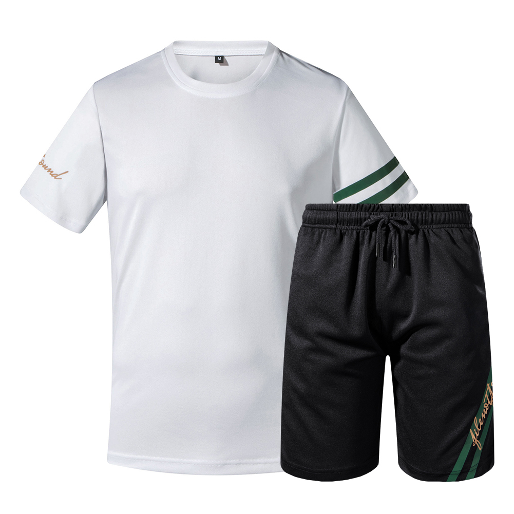 US/Euro 2 Pcs/Set Men's Tracksuit Suit Fitness Compression Clothes Jogging Wear Exercise Workout Set Size S-2XL Traje De Hombres