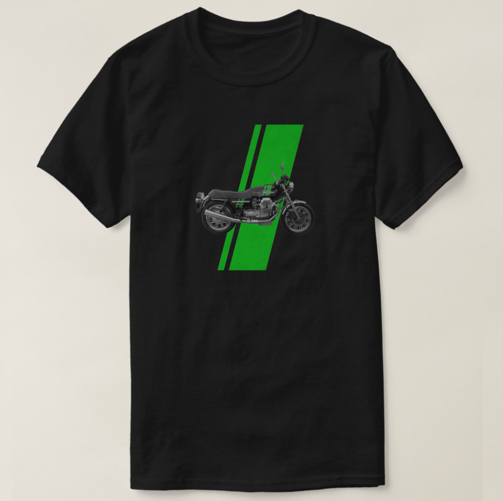 2019 Printed Men <font><b>T</b></font> Shirt Cotton Short Sleeve Moto Guzzi - <font><b>1000S</b></font> Vintage Green <font><b>T</b></font>-Shirt Women tshirt image