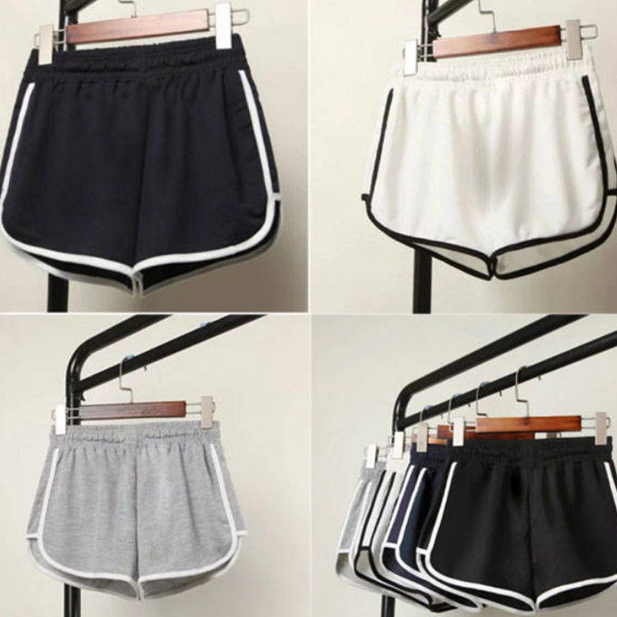 Women Summer Shorts Split Elastic Waist Short Loose European Style Beach Sexy Home Short Women's Fitness Shorts 5XL Plus SIZE