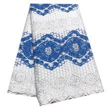 Лучшие Продажи Бусины французский швейцарский тюль вуаль кружевная ткань DIY африканская нигерийская сетка гипюр кружевная ткань для женской одежды