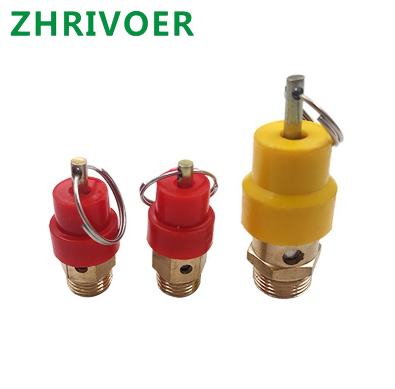 1//4 8Kg BSP Pull to Release Air Compressor Safety Valve Pressure Relief Release
