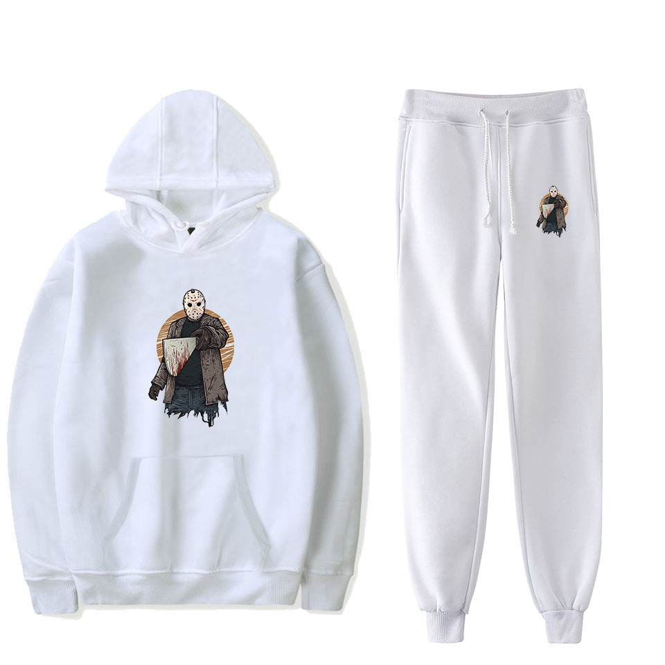 Friday The 13th: The Game 13 Friday Hooded Sweater + Ankle Banded Pants Set