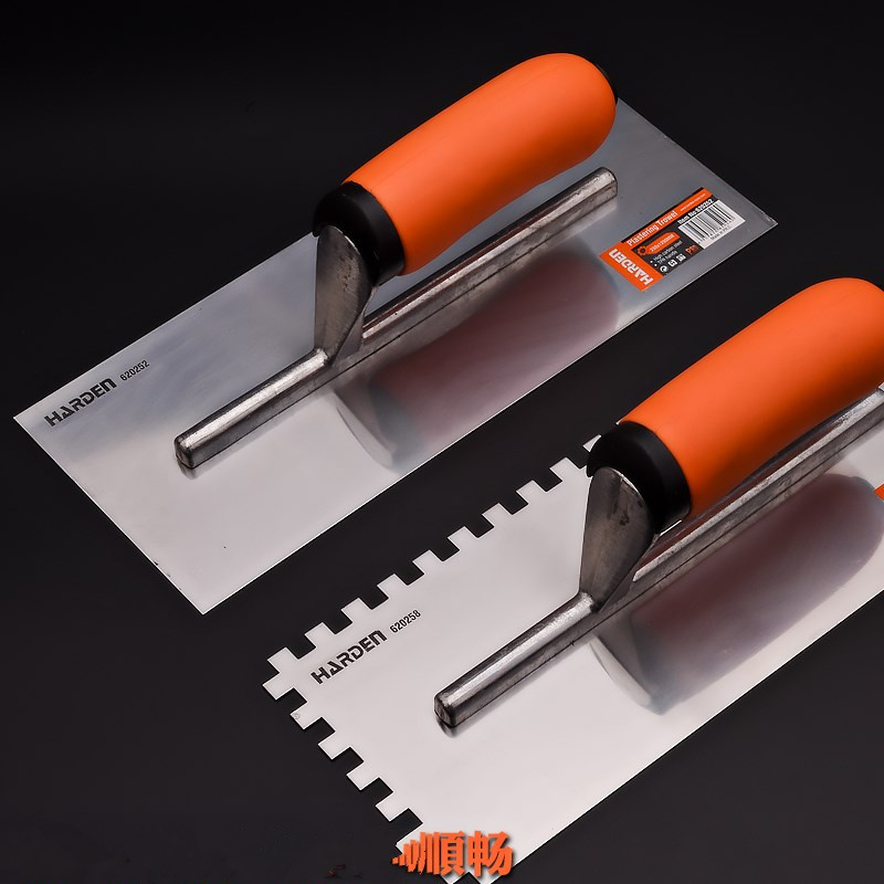 High Quality Gauging Trowel Steel Plastering Finishing Trowel Spatula Putty Knife Scraper Industrial Grade Construction Tools