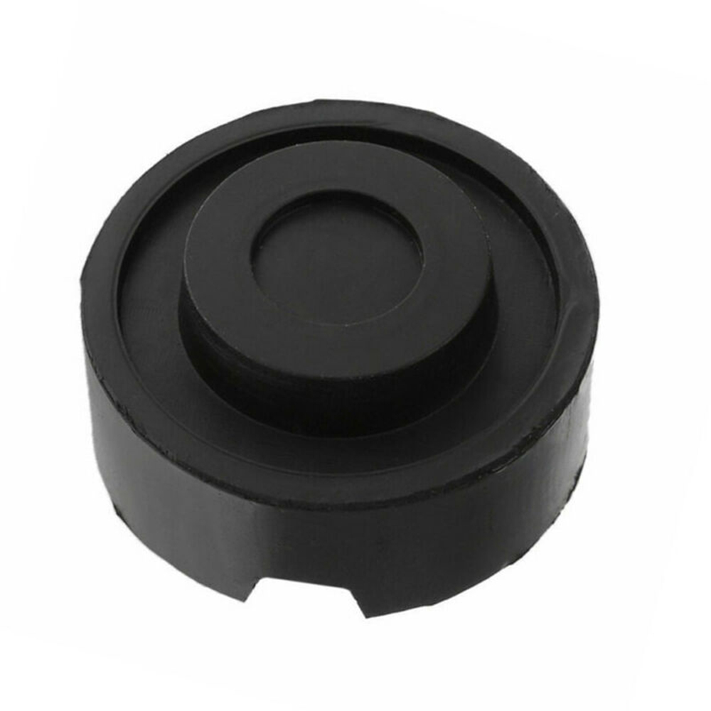 Universal Car Rubber Jack Pad Slotted Frame Rail Floor Protective Adapter Lifting Tools Black Exterior Accessory