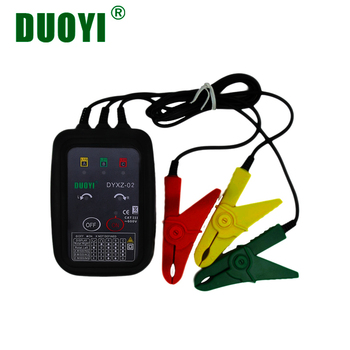 цена на DUOYI DYXZ-02 Non-Contact Phase Sequence Detector Phase Meter Phase Detector Indicator Detector Meter LED Display 3 Phase Tester