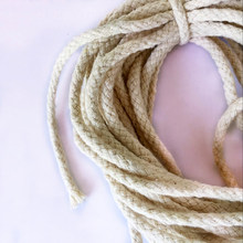 10M Braided Cotton Rope Macrame Cord for Handmade Crafts Plant Hanger, DIY Decorations
