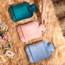 Bolsa De agua caliente De silicona con bonito Conejo, Warmies De piel, calentador, Bolsa De agua caliente, Bolsa De goma, BW50RS