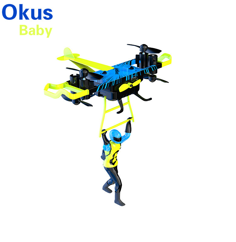 2021 Newest Air Pressure Altitude Hold Multi-Fly Indoor RC Quadcopter Drone