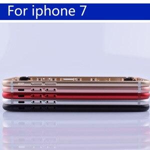 "Image 1 - 4.7 ""עבור 7 7G Coque סוללה כיסוי דלת שיכון חזור דיור עבור iphone7 פגז מארז אמצע מסגרת גוף אחורי מקרה"