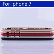 """4.7 """"7 7G Coque pil kapağı kapı konut arka konut için iphone7 kabuk şasi orta çerçeve vücut arka kılıf"""