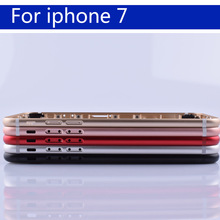 """4.7"""" For 7 7G Coque Battery Cover Door Housing Back Housing For iphone7 Shell Chassis Middle Frame body rear case"""