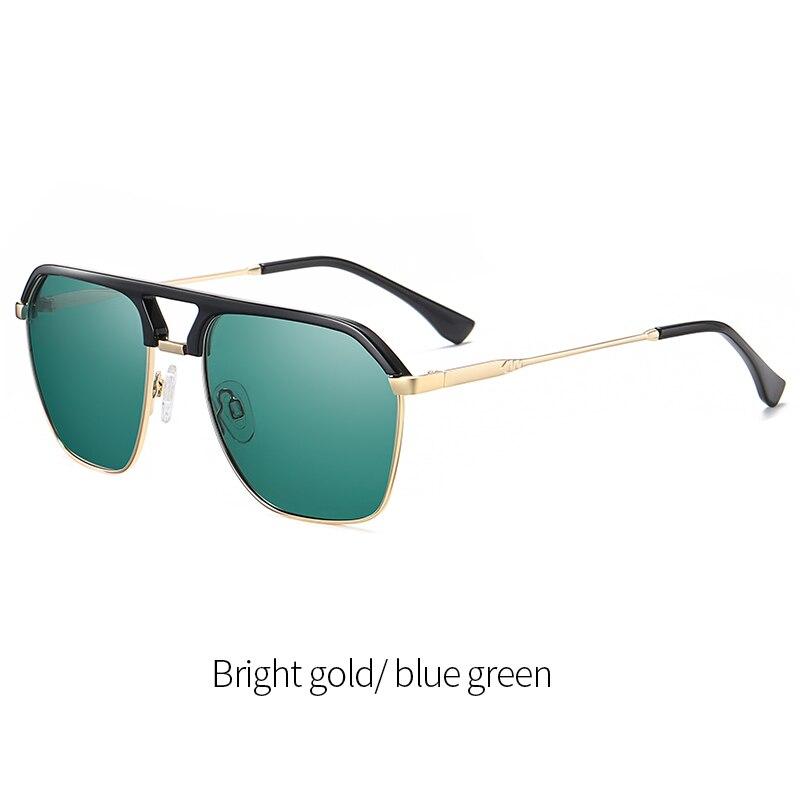 Polarisé Photochromique Lunettes de soleil homme pilote de UV400 Sport Conduite extérieure Eyewear