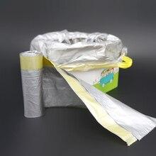 Дети универсальный портативный складывающийся горшок сиденья Сумки для чистки-горшок обучение Туалет вкладыши одноразовые с Кулиской