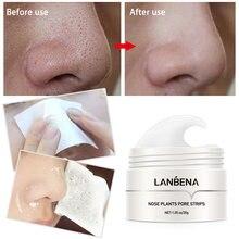 Маска-полоска для очищения кожи носа LANBENA, маска для удаления угрей, маска-пилинг для лечения акне, маска для глубокого очищения лица и контр...