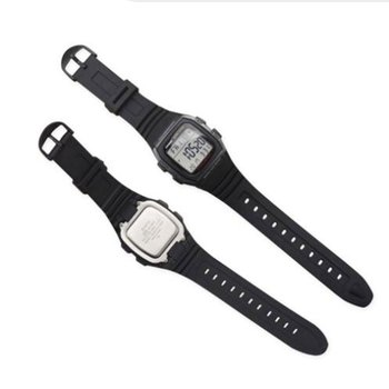 Soft Rubber Watch Band Stainless Steel Pin Buckle Watchband For Casio W-96H Sports Men Women Strap Bracelets with Tools Hot Sale недорого