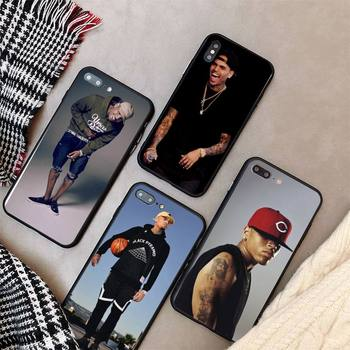 Yinuoda Chris Brown Breezy Phone Case cover For iPhone X 8 7 6 6S Plus XS MAX 5 5S SE XR 11 12 Pro Promax coque image